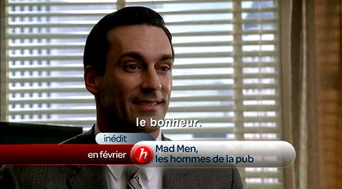 MAD MEN, LES HOMMES DE LA PUB
