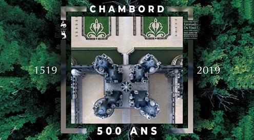 LE DOMAINE NATIONAL DE CHAMBORD FETE SES 500 ANS