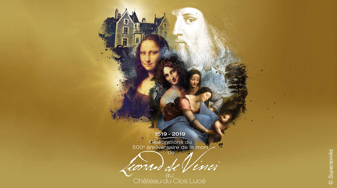 Léonard de Vinci au Clos Lucé
