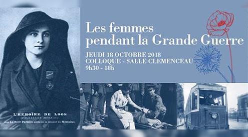 Colloque Les femmes dans la Grande Guerre