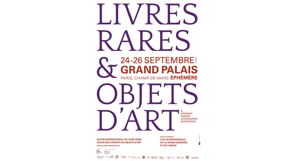 Salon international du livre rare et des Experts en objets d'art